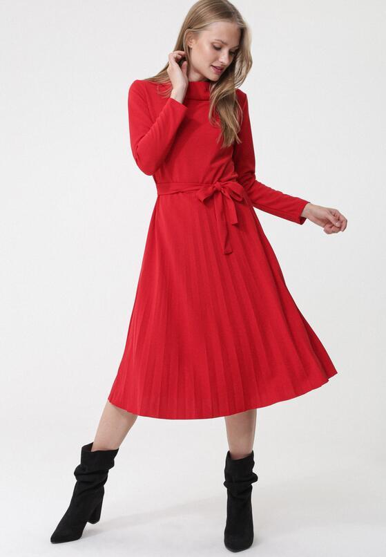 Czerwona Sukienka Riona