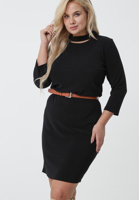 Czarna Sukienka Grytha