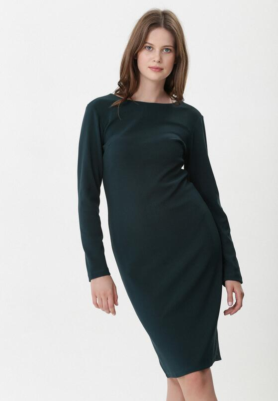 Ciemnozielona Sukienka Aerith