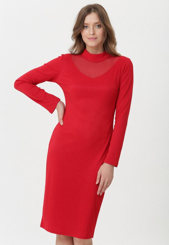 Czerwona Sukienka Ivette