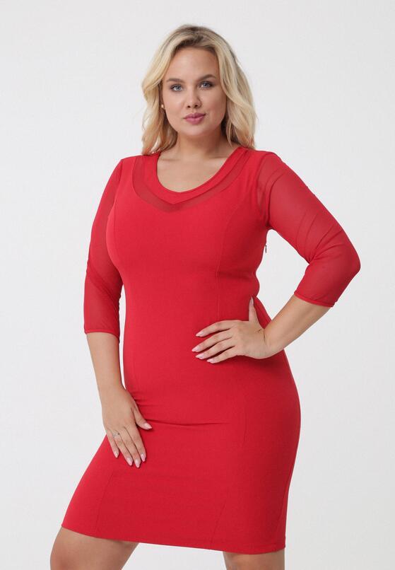Czerwona Sukienka Pretty Doll