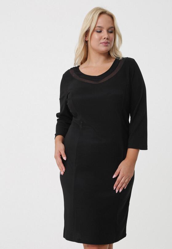 Czarna Sukienka Etna