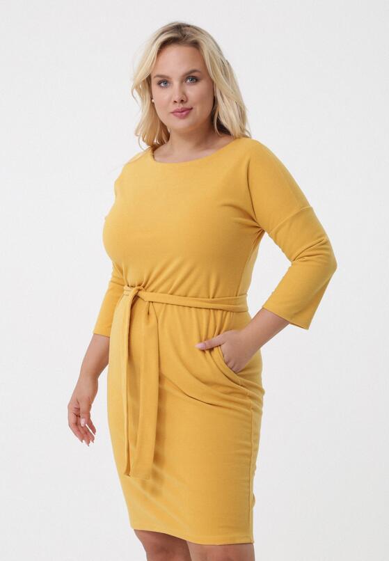 Żółta Sukienka Gypsy