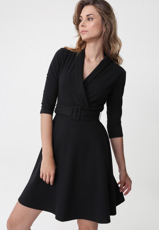 Czarna Sukienka Damaris