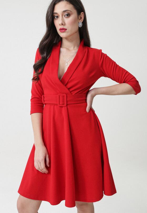 Czerwona Sukienka Damaris