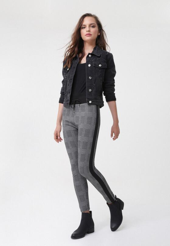 Czarne Spodnie Geraldine