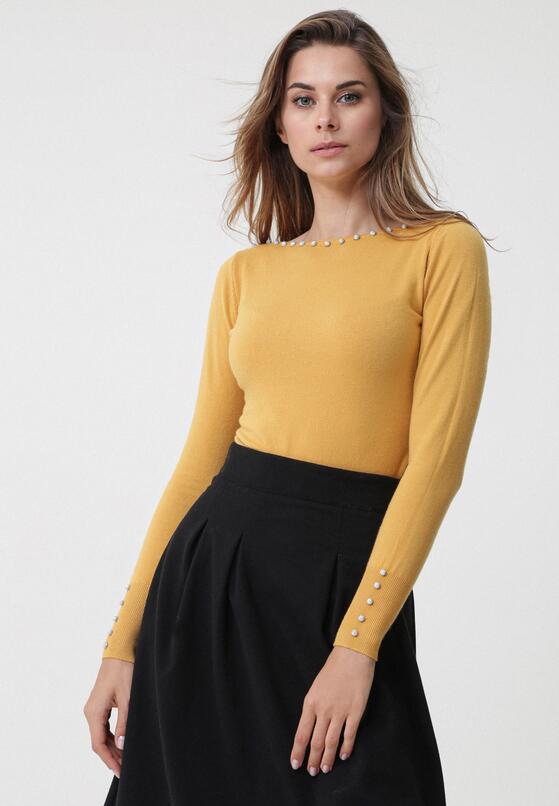 Żółty Sweter Sinéad