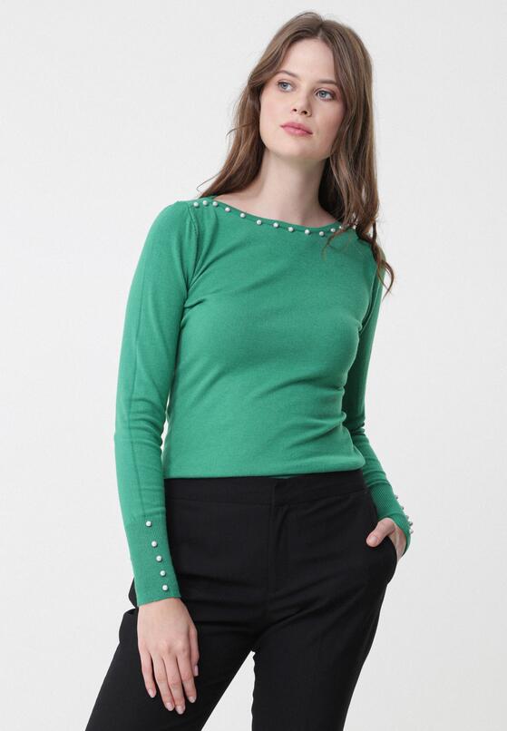 Zielony Sweter Sinéad