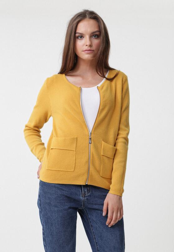 Żółty Kardigan Sue
