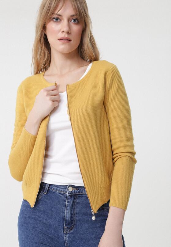 Żółty Kardigan Joleanne