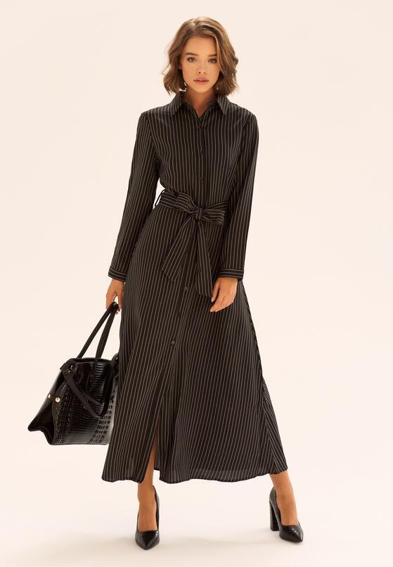 Czarna Sukienka Modesto