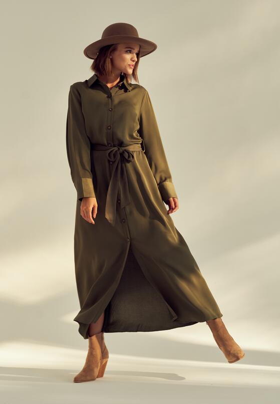 Zielona Sukienka Solfatara