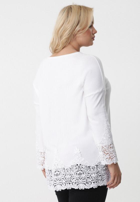 Biały Sweter Missfortune
