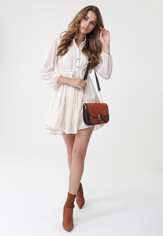 Jasnobeżowa Sukienka Biscotti