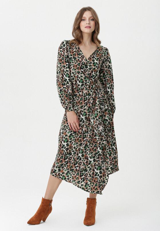 Ciemnobeżowa Sukienka Augusta