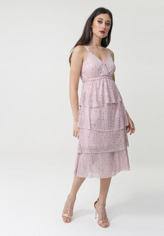 Różowa Sukienka Taffy