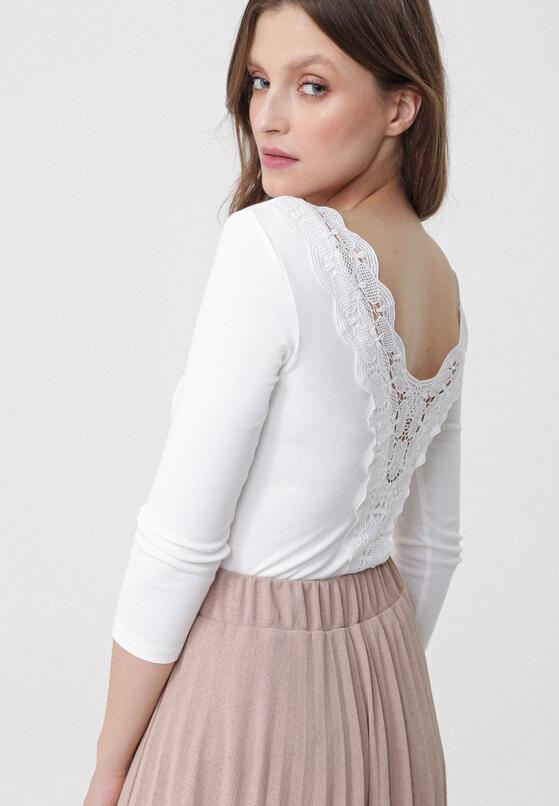 Biała Bluzka Mauve