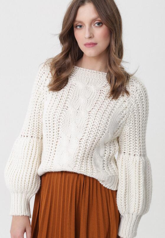 Kremowy Sweter Pretty Cruel