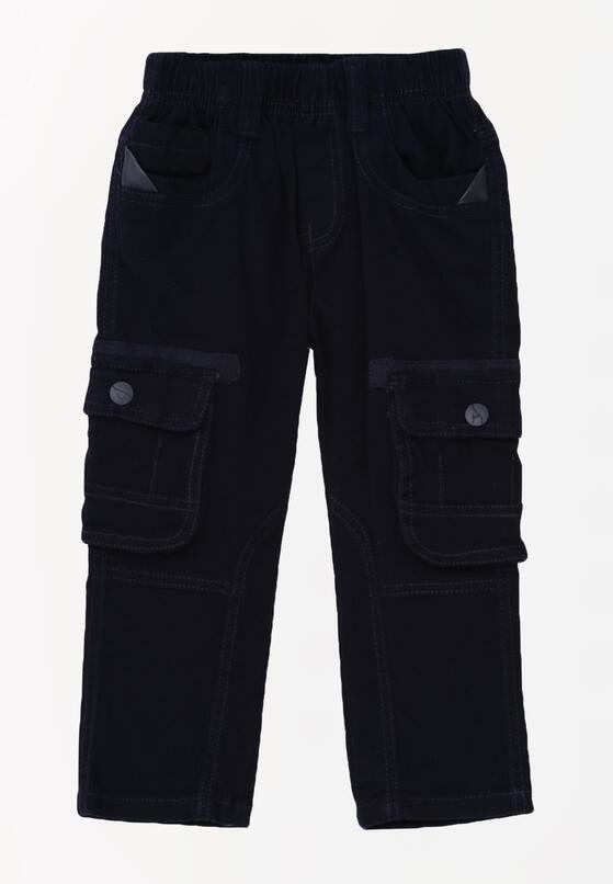 Granatowe Spodnie Kansas