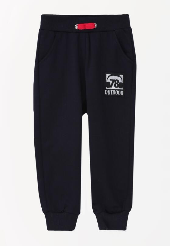 Granatowe Spodnie Hampton