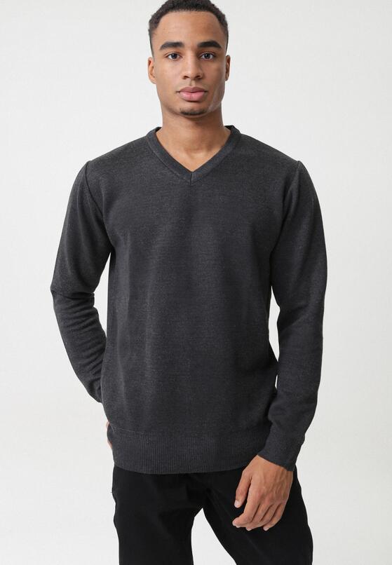 Ciemnoszary Sweter L'Aquila