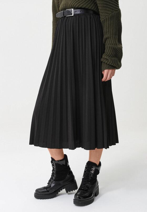 Czarna Spódnica Petersham