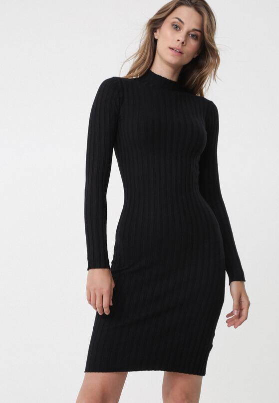 Czarna Sukienka Harringay