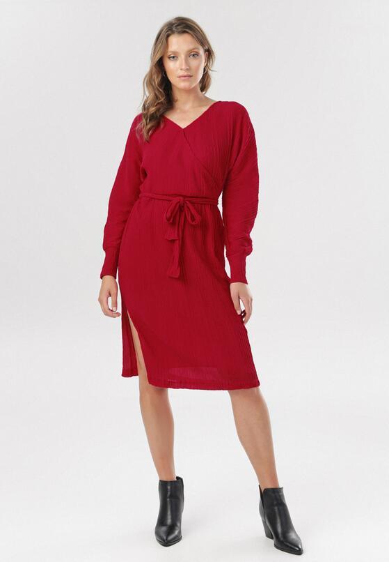Czerwona Sukienka Manosque