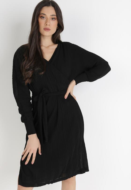 Czarna Sukienka Manosque