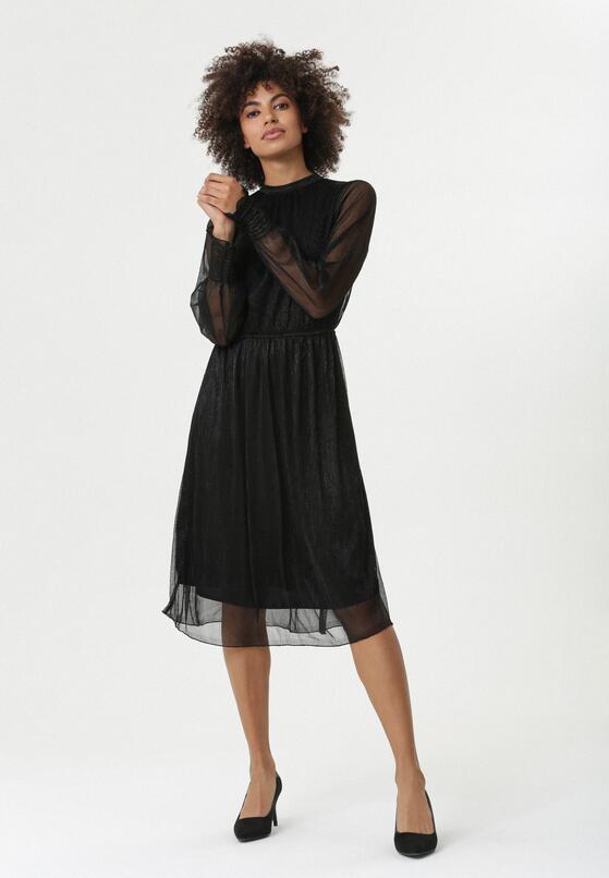 Czarna Sukienka Isere