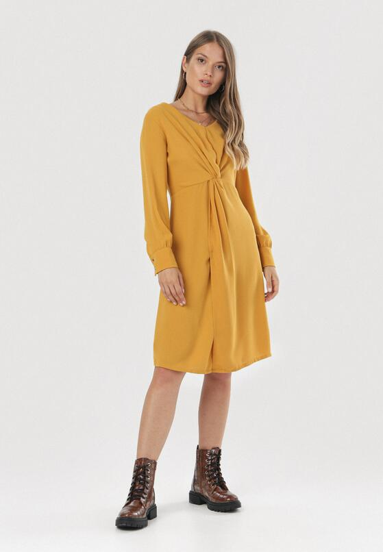 Camelowa Sukienka Cariacica
