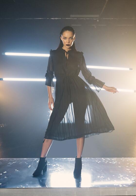Czarna Sukienka Worcester