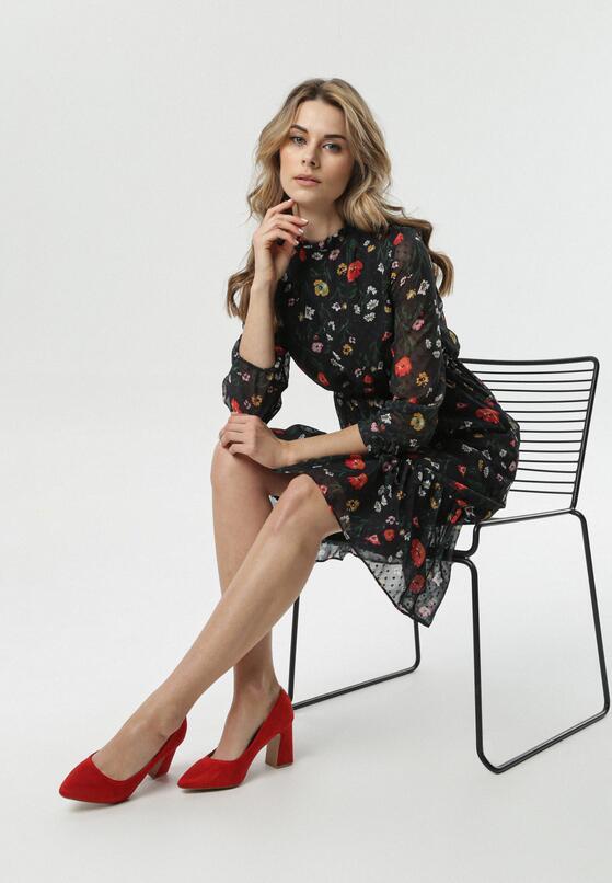 Czarna Sukienka Frontignan
