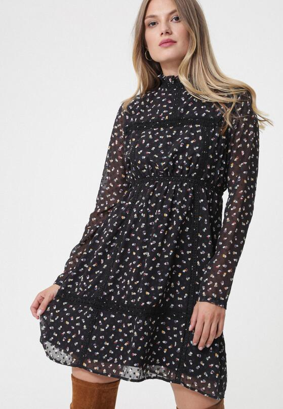 Czarna Sukienka Fresnes