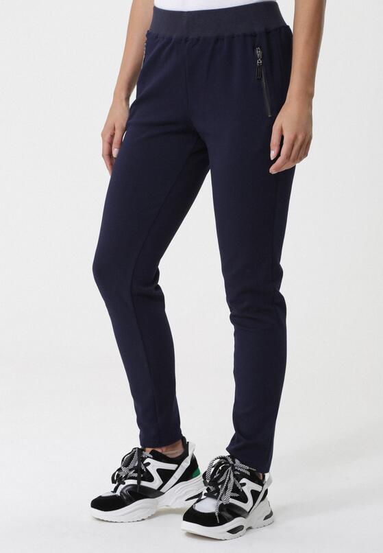 Granatowe Spodnie Marituba