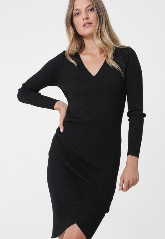Czarna Sukienka Atibaia