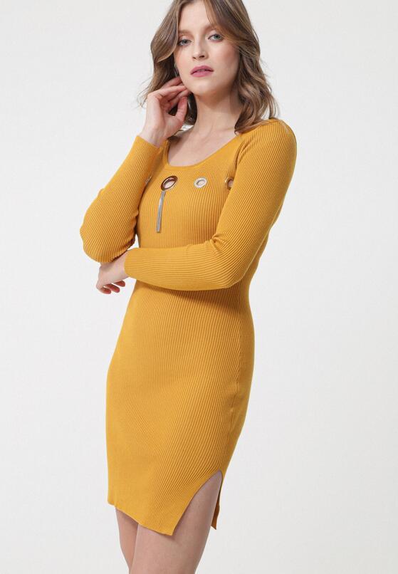 Żółta Sukienka Kings Grove