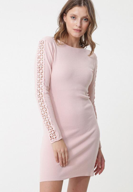 Różowa Sukienka Lugarno