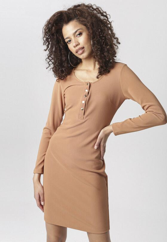 Beżowa Sukienka Eaglemont