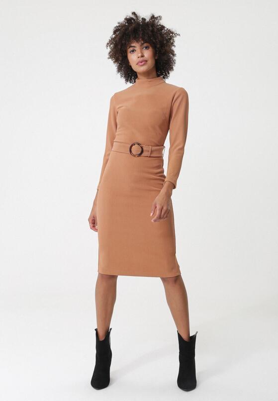 Beżowa Sukienka Highett