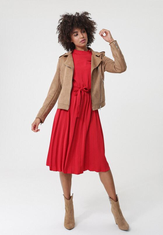 Czerwona Sukienka Somerton