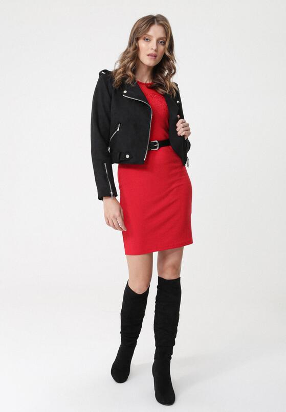 Czerwona Sukienka Ashwood