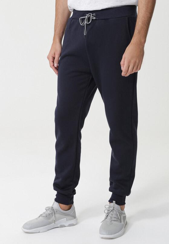 Granatowe Spodnie Dresowe Somerville