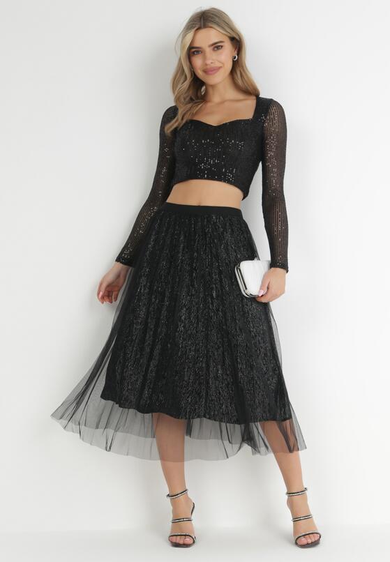 Czarna Spódnica Lytton