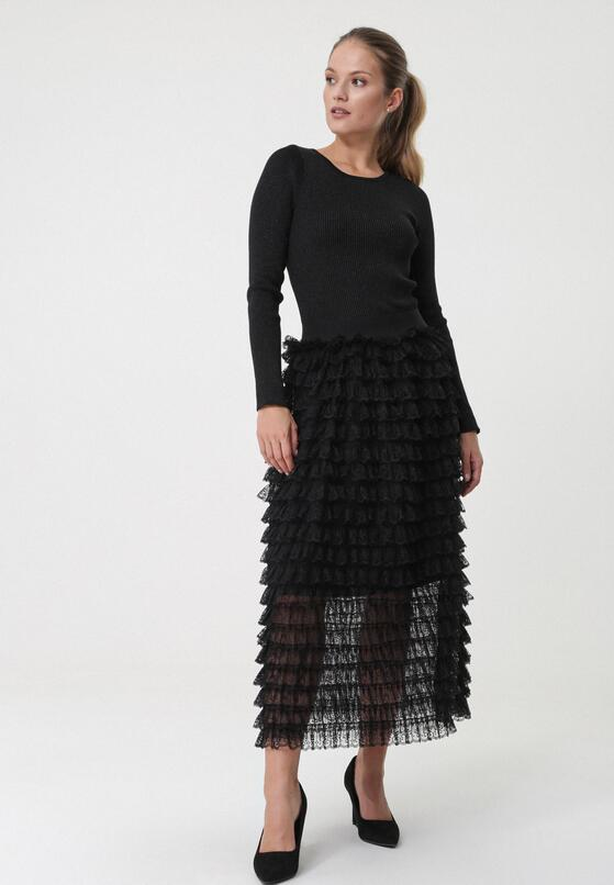 Czarna Sukienka Ormiston