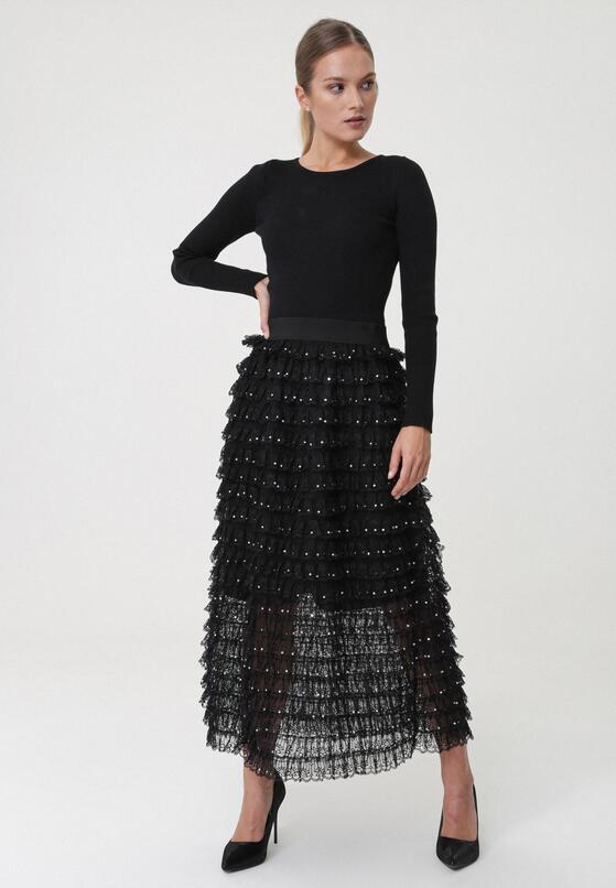Czarna Sukienka Arana