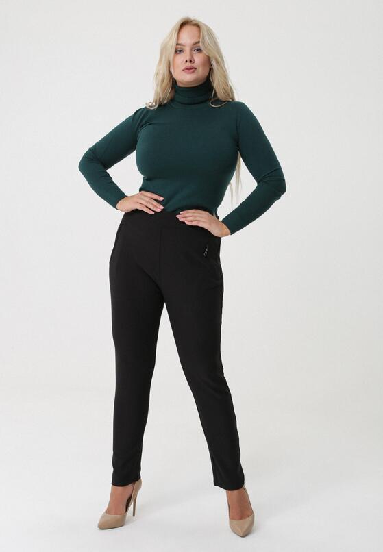 Czarne Spodnie Crafers
