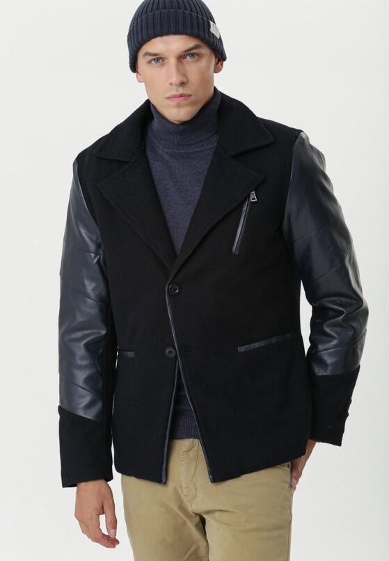 Czarny Płaszcz Fairview
