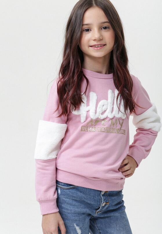 Różowy Sweter Parmelia