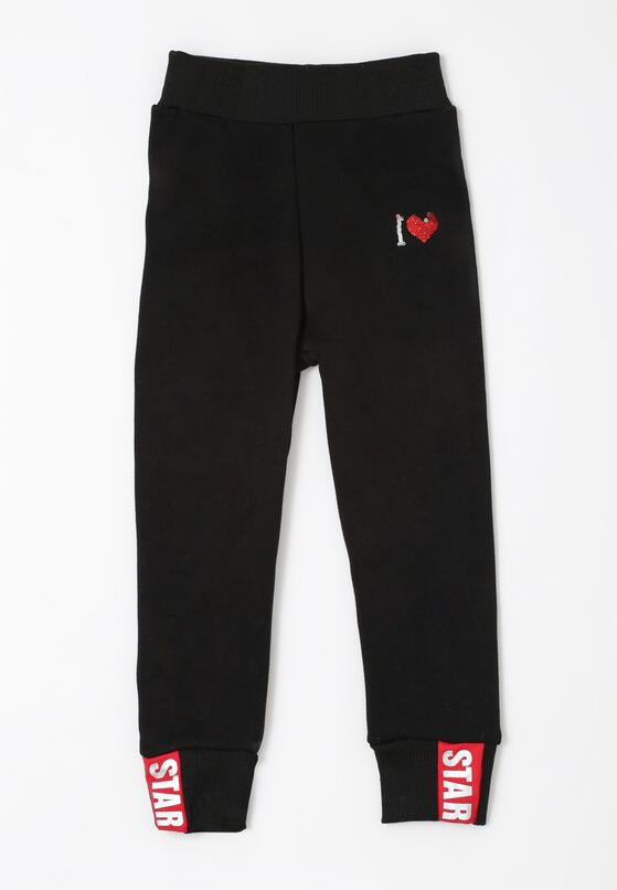 Czarne Spodnie Cloverdale
